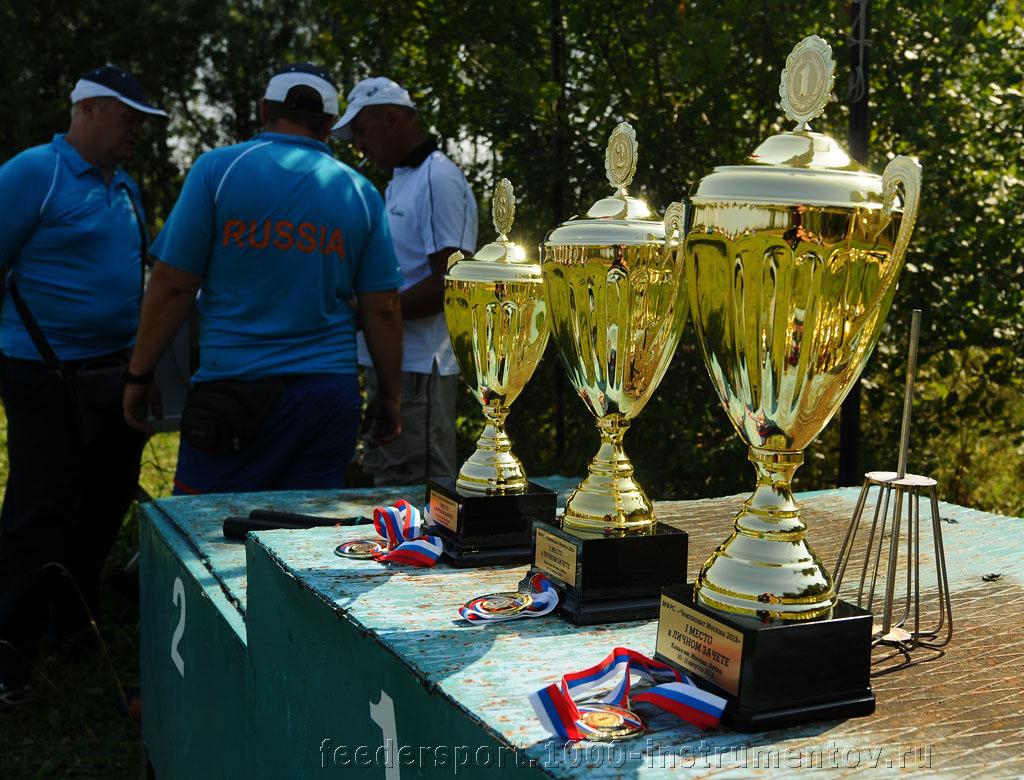 Кубки на соревнованиях Чемпионат Москвы 2013