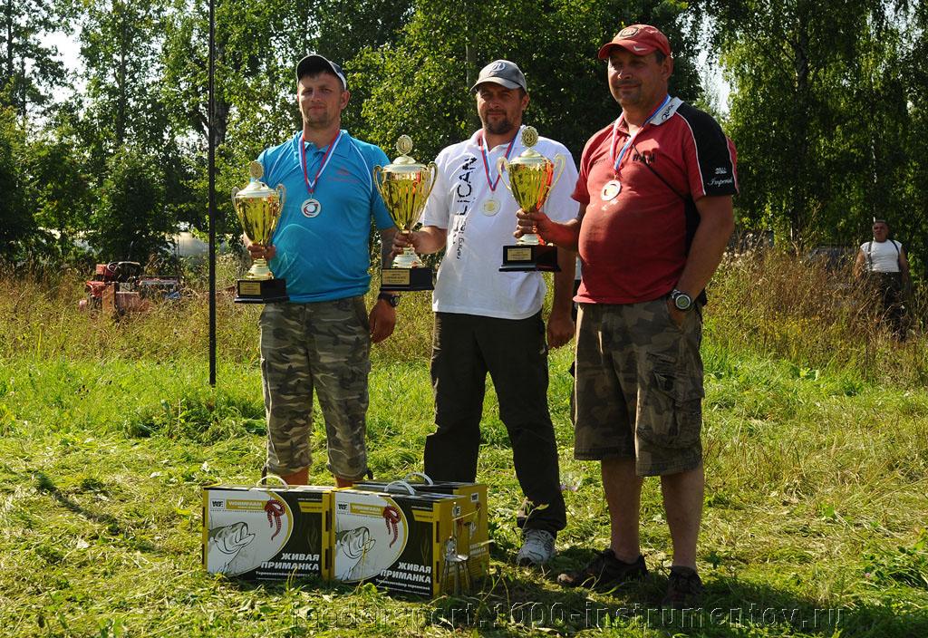 Победитель и призеры в личном зачете на соревнованиях Чемпионат Москвы 2013