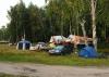 Палаточный лагерь на соревнованиях Чемпионат Москвы 2013