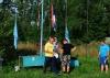 Чемпион Москвы 2012 г. Олег Молодцов поднимает флаг на соревнованиях Чемпионат Москвы 2013