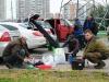 Приготовление прикормки на соревнованиях Кубок Москвы 2013, тандем