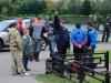Спортсмены перед построением на награждение на соревнованиях Кубок Москвы 2013, тандем