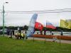 Флаги на соревнованиях Кубок Москвы 2013, тандем