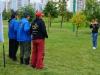 Фото на память спортсменов из команды Волжанка на соревнованиях Кубок Москвы 2013, тандем