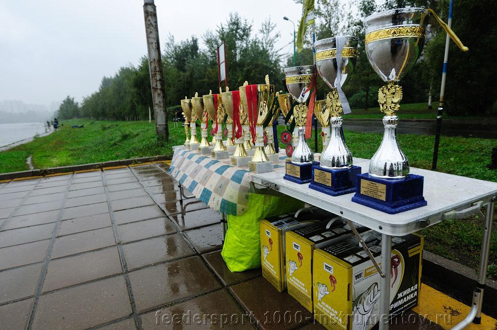 Кубки и призы на соревнованиях Кубок Москвы 2013