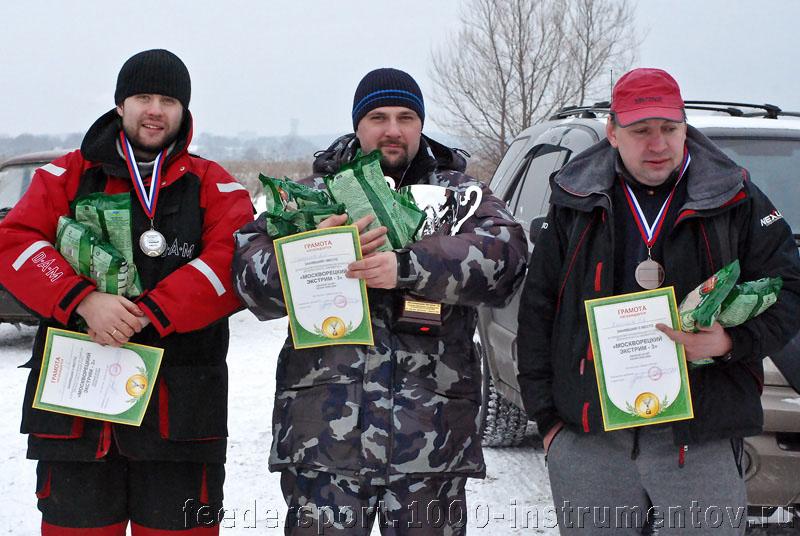 Призеры соревнований Москворецкий Экстрим 3 сезона 2008-2009