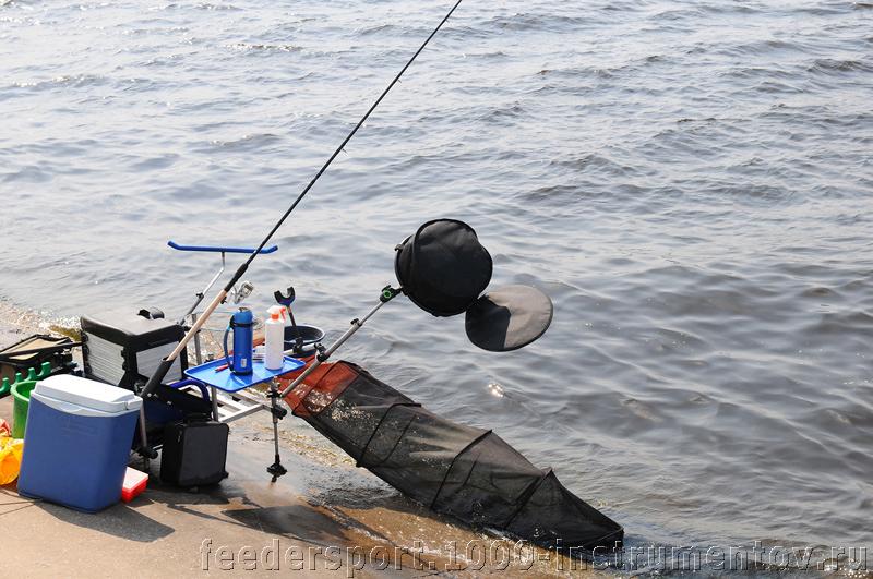 Рыболовное место, на тренировке