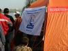 Палатка-штаб организаторов