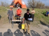 Роман Лаптев с призом за самый большой вес выловленной рыбы