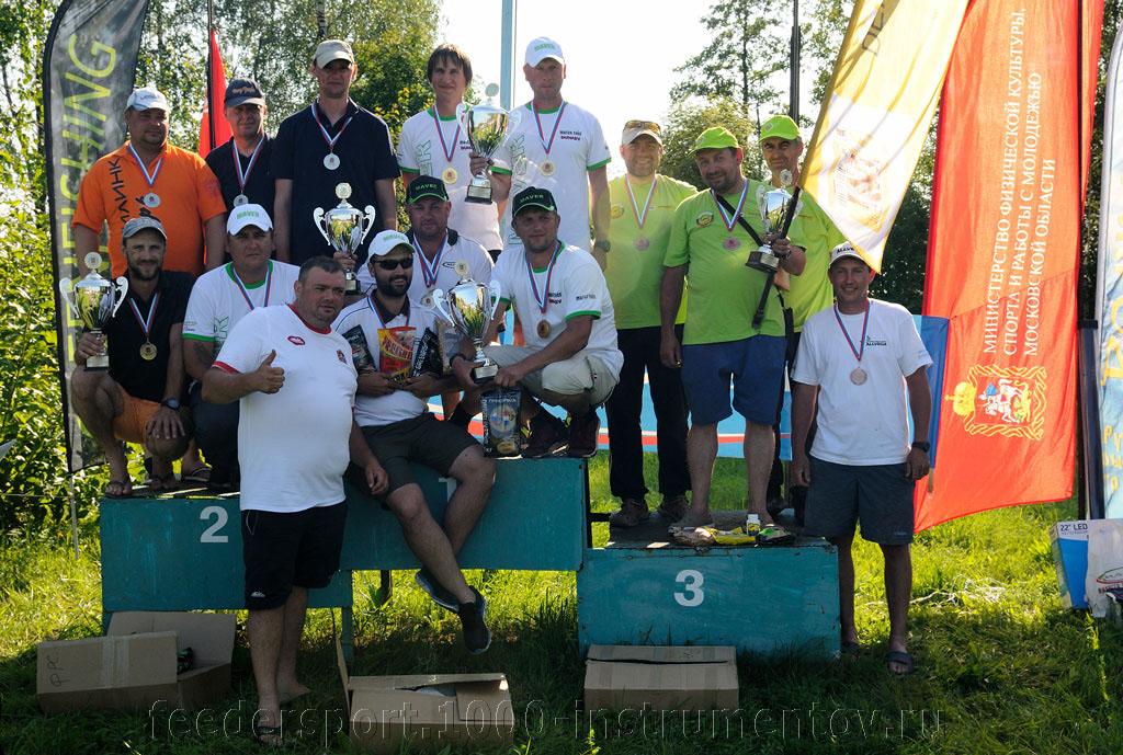 Победители и призёры Чемпионата Московской области 2015