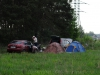 Палаточный лагерь на отборочных соревнованиях по фидеру на чемпионат мира в ЮАР 2013