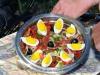 Овощной салат с каперсами приготовил Илья