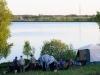 Вид на лагерь Русфишинга