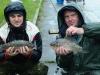 Паша и Дима с карасями кило двести и кило четыреста на тренировке в Марьино 15 сентября 2013 г.