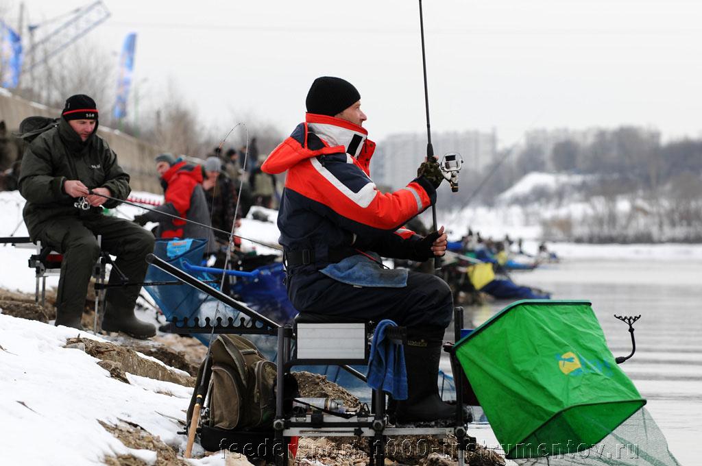 Дмитрий промеряется на соревнованиях Кубок Волжанка 2013
