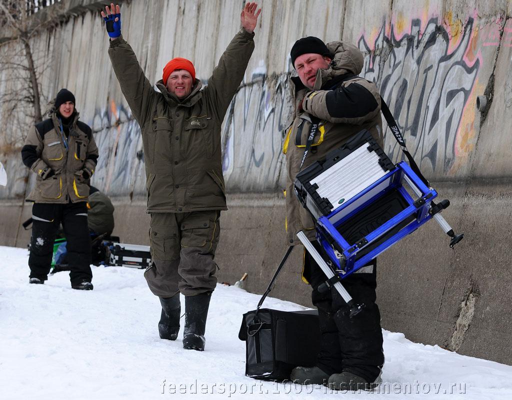 Виталий и Павел, после первого тура соревнований Кубок Волжанка 2013